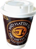 Mad Hatter Tea Party paper cups -  -  - ( 25's) -